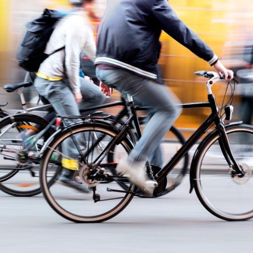 Boton Vienes en bici